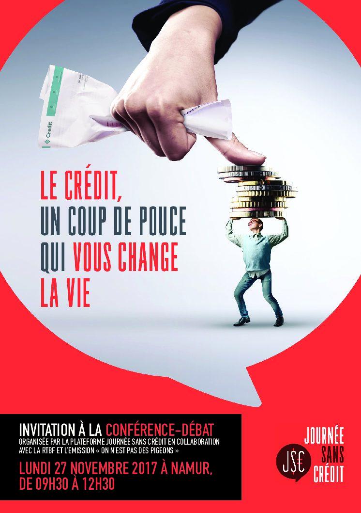 Conférence-débat – Journée Sans Crédit